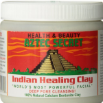 healing clay, clay mask, aztec secret