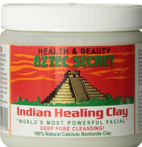 healing clay, clay mask, aztec secret