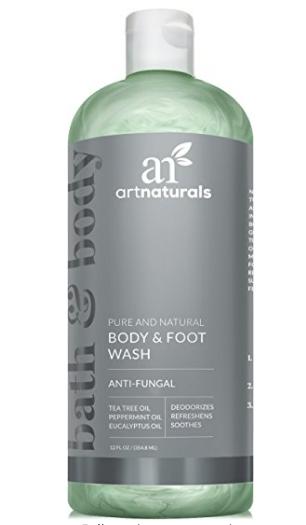 anti-fungal, foot wash, athletes foot