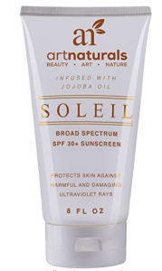 Art Naturals, Natural sunscreen
