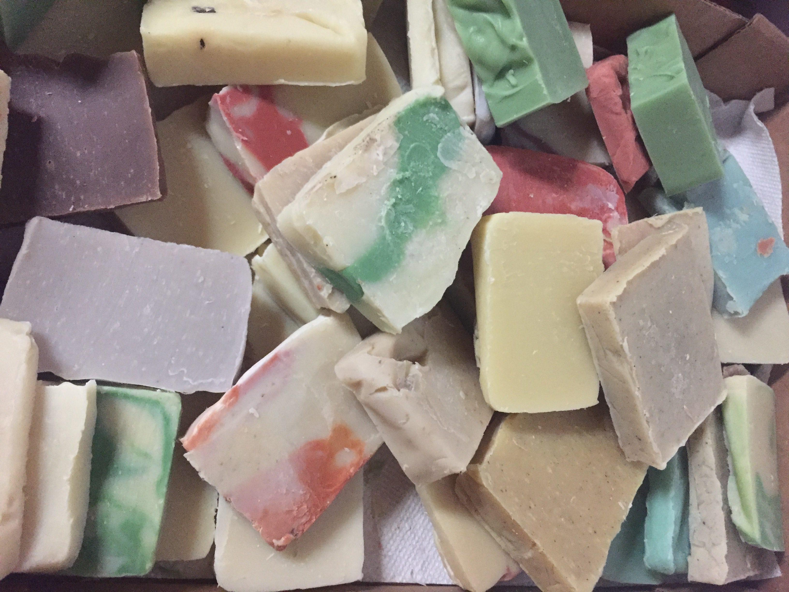 soap ends, soap scraps