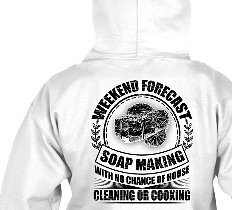 soapmaking, shirt for soap