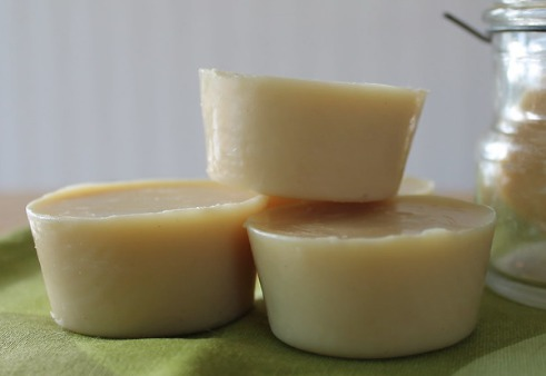 lotion bars, easy lotion bar recipe